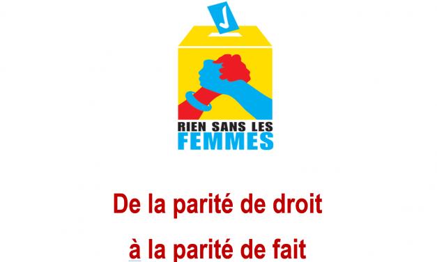 Un nouveau souffle pour le Mouvement Rien sans les femmes (RSLF)