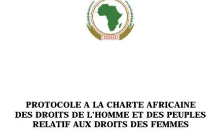 Le Protocole de Maputo enfin publié au Journal Officiel: quelles conséquences?