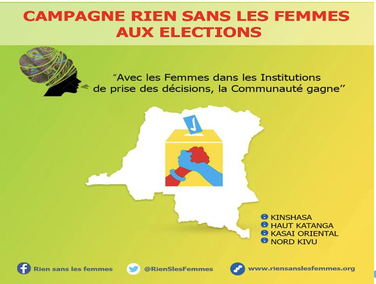 Projet d'information, de sensibilisation et de formation en faveur des femmes candidates