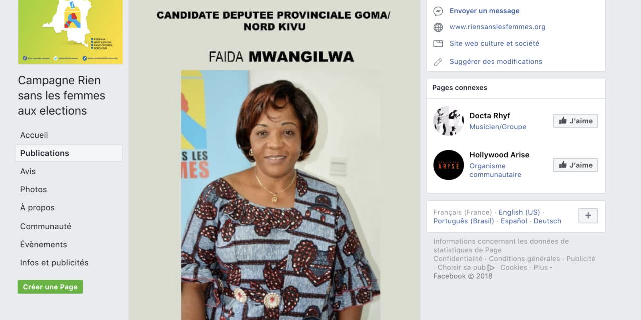 Les réseaux sociaux en soutien aux candidates