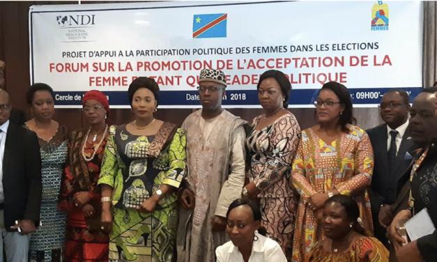 Des forums sur la participation politique des femmes aux élections