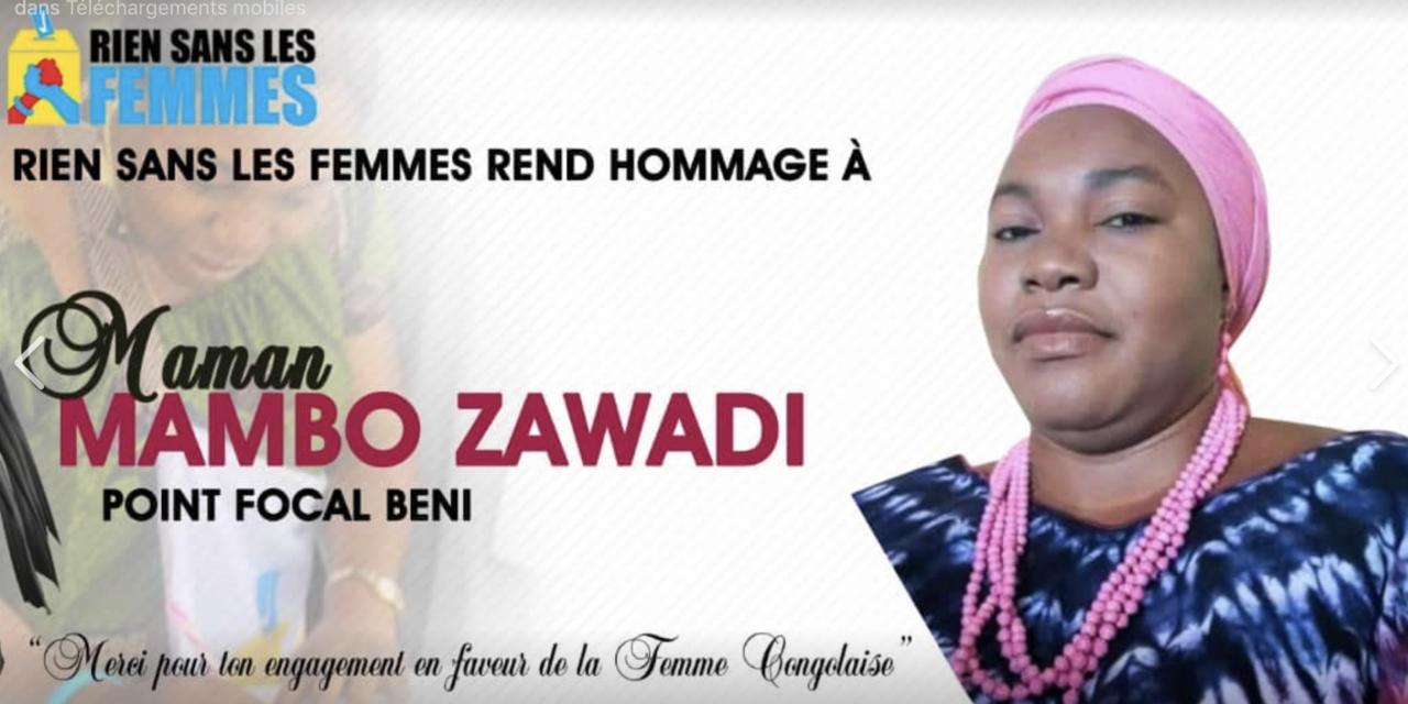 Hommage à Mambo ZAWADI, activiste des droits de la femme