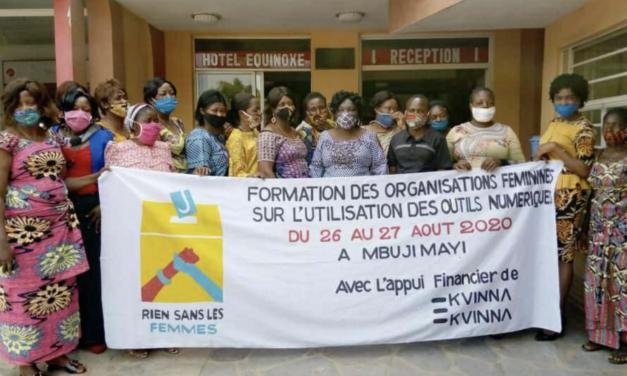 Formation des organisations membres de RSLF sur l'utilisation des outils numériques.