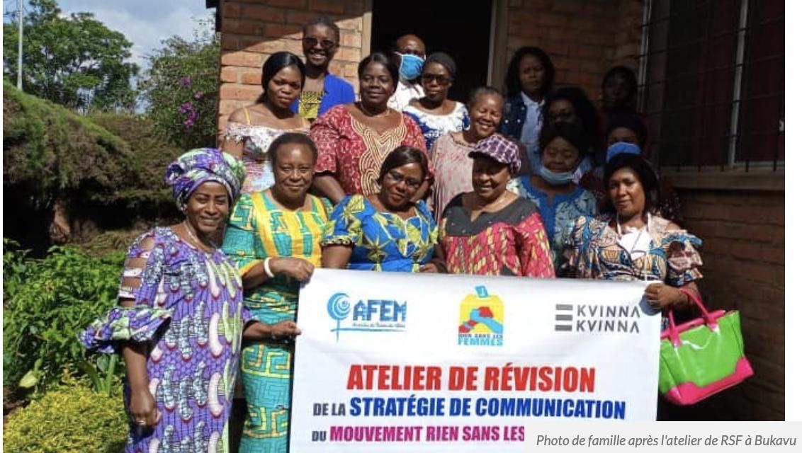 Sud-Kivu: Le mouvement rien sans les femmes renforce ses stratégies de communication