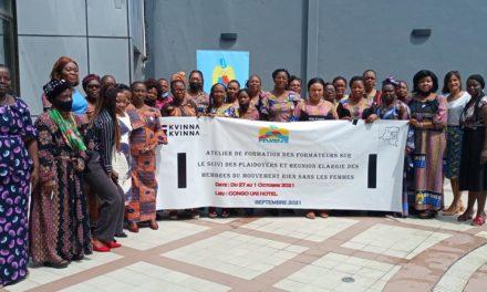 Réunion de la Coordination Nationale du mouvement Rien Sans Les Femmes